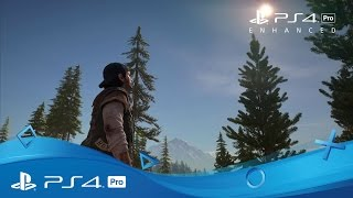 Ps4 pro :  bande-annonce
