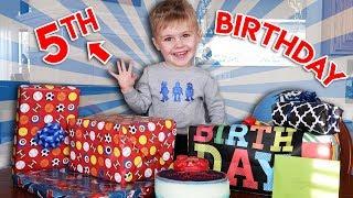 JACKSON'S 5th BIRTHDAY PARTY!