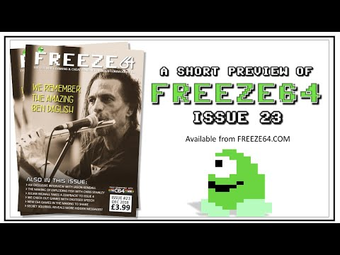 FREEZE64 fanzine issue 23 for the Commodore 64