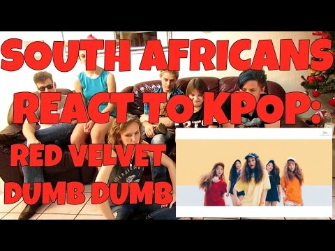 SOUTH AFRICANS REACT TO KPOP (non-kpop fans): RED VELVET - DUMB DUMB