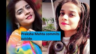 Crime Patrol actress Preksha Mehta commits suicide..