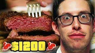 Keith Eats $1200 Of Steak | Eat The Menu