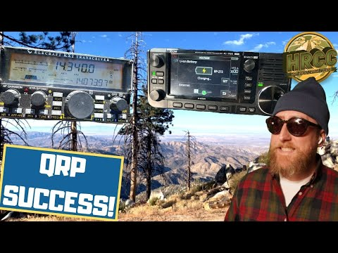 Best Practices For Operating QRP Ham Radio!