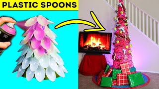 Trying 7 Fun Christmas Decorations and Life Hacks!! By Crafty Panda and 5 Minute Crafts