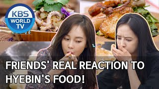 Friends' real reaction to Hyebin's food [Stars' Top Recipe at Fun-Staurant/ENG/2020.06.16]