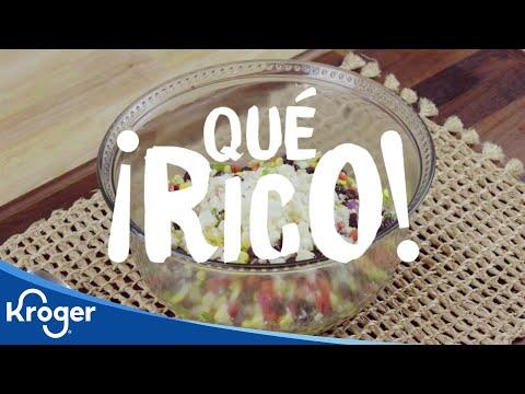 ¡Qué Rico! Corn & Queso Salad
