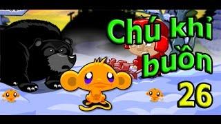 Game chu khi buon 26 | Hướng dẫn đáp án game chú khỉ buồn 26
