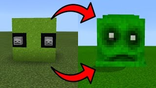 How To Spawn the Slime Boss in Minecraft Pocket Edition