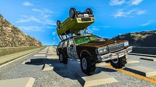 HOW FAR WILL IT GO? #8 - BeamNG Drive Crashes