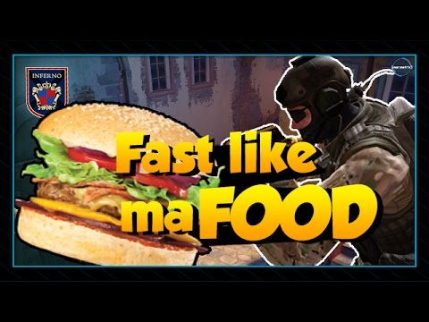 Funny Csgo Gameplay Fast Food Team Csgo Competitive Gameplay