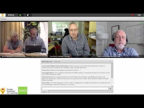 Webbinarium 21/8 2013 Co--production i vården - vad är poängen?