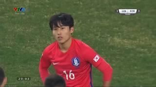 Highlights U23 Hàn Quốc 1-4 U23 Uzbekistan | AFC U23 Championship 2018