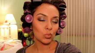 Conair Hot Rollers Tutorial - Everyday Curls