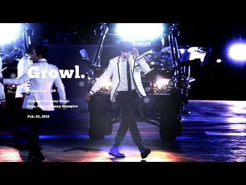 [4K] 180225 Growl by sehun