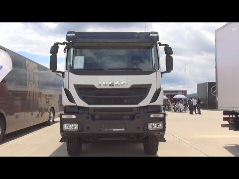Iveco Trakker AD410T45 8x4x4 Hi-Land Tipper Truck (2016) Exterior and Interior in 3D