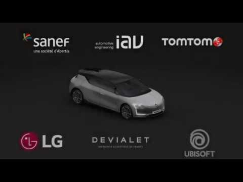 Renault SYMBIOZ Demo car - partenaires   Groupe Renault