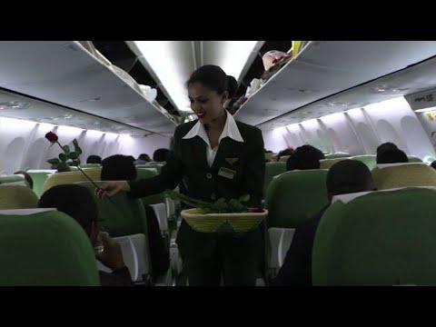 اقلاع أول رحلة ركاب منذ ٢٠ عاما من اثيوبيا الى اريتريا
