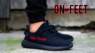 ADIDAS YEEZY BOOST 350 V2 'BRED' [ON-FEET+REVIEW]