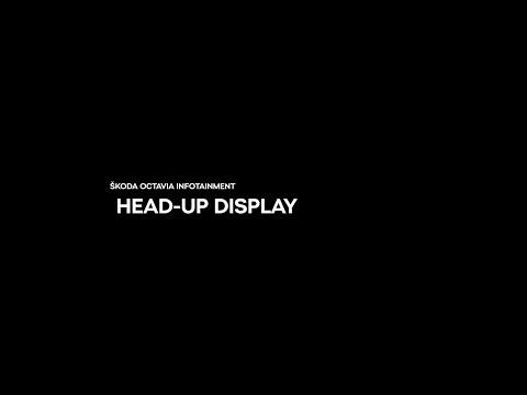 ŠKODA Infotainment - Head up-display