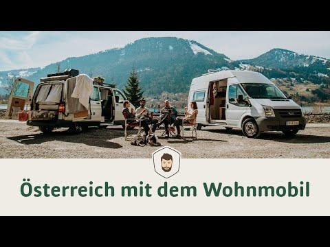 Österreich mit dem Wohnmobil 🚐 Vanlife & Camping im Winter