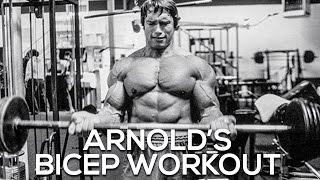 Arnold's Bicep Workout