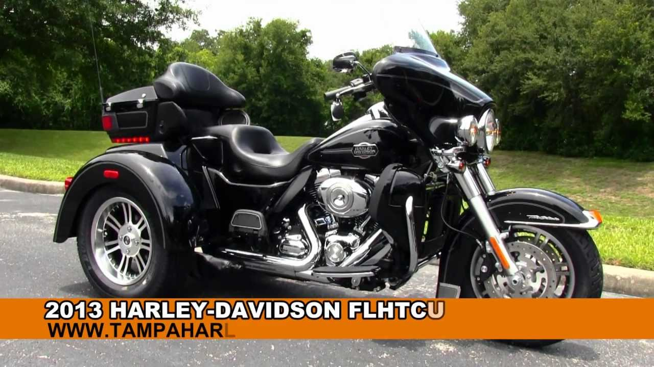 Harley Davidson Of Dothan >> New 2013 Harley Davidson Trike for Sale in Panama City Beach, FL - YouTube