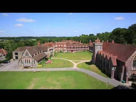 Bradfield College Aerial Advert