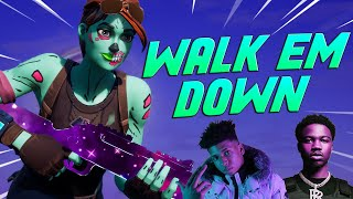 "Fortnite Montage - ""WALK EM DOWN"" (Roddy Ricch, NLE Choppa)"