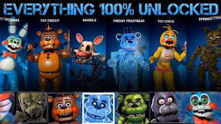 GUIDE: How to Unlock EVERY PLUSH SUIT & CPU In FNaF AR: Special Delivery