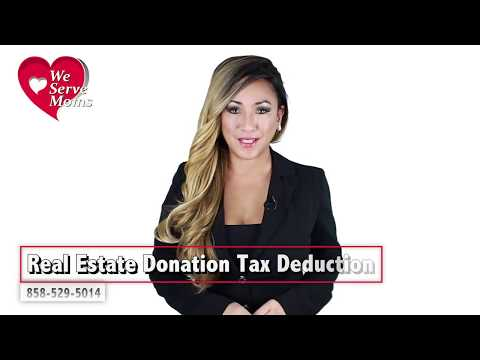 Real Estate Donation Tax Deduction