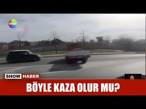 Böyle kaza olur mu?