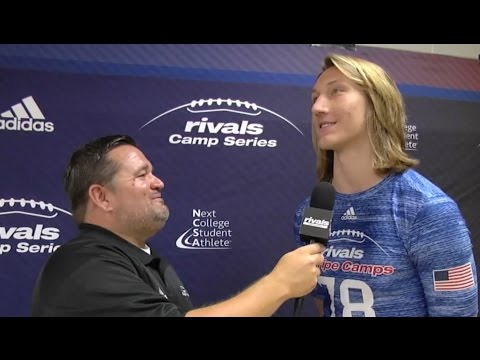 Rivals Camp ATL: Trevor Lawrence interview