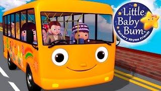 Wheels On The Bus   Part 5   Nursery Rhymes   Original Version by LittleBabyBum!
