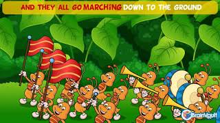 Ants Go Marching One By One   Sing a long for Kids with Lyricsyoutube com