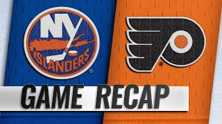 Bailey paces Islanders to 4-2 win against Flyers
