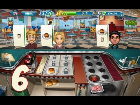 Cooking Fever - Gameplay Walkthrough Part 5 - Salad Bar / Italian Buffet / Aloha Bistro
