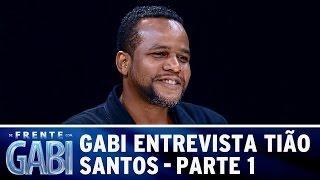 Gabi entrevista Tião Santos