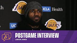 Lakers Postgame: LeBron James (1/23/21)