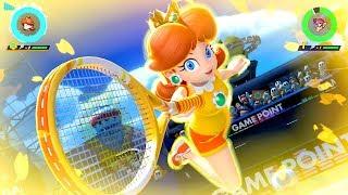 Mario Tennis Aces - Tournament As Daisy