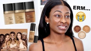 CAN WE TALK? TOO FACED X JACKIE AINA BORN THIS WAY EXTENDED FOUNDATION REVIEW
