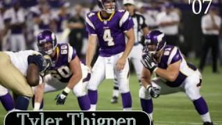 Minnesota Vikings Quarterbacks