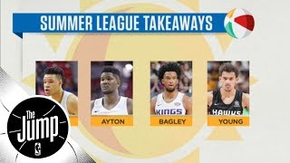 NBA Summer League: In-depth look at Trae Young, Marvin Bagley III, Deandre Ayton | The Jump | ESPN