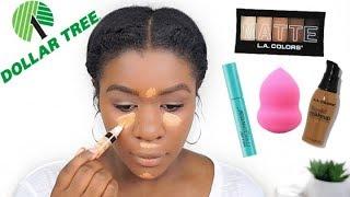Dollar Tree Makeup Challenge...OMG! l beautybychichi