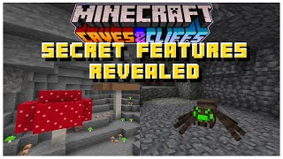 SECRET Upcoming Snapshot Features REVEALED All Along? | Minecraft 1.17 Caves & Cliffs Update