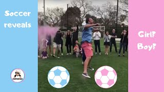 SOCCER GENDER REVEAL COMPILATION { FIFA 2018 } / 2M UNIQUE BABY GENDER REVEALS