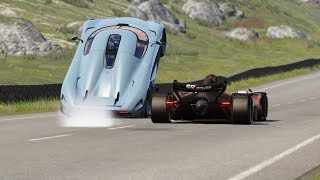 2021 Formula Rapide vs Hypercars at Highlands