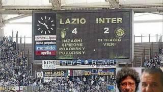 Lazio-Inter 4-2 (5/5/2002) Radiocronaca di Riccardo Cucchi e Bruno Gentili (Radio Rai)