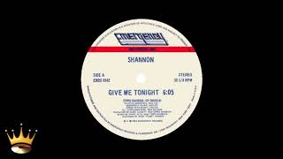 Shannon - Give Me Tonight (12'')