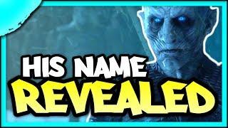 Evidence that the Night King's Name is JON SNOW   Game of Thrones Season 8