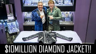 $10MILLION DIAMOND JACKET (GUINNESS WORLD RECORD)